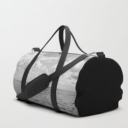 Monochrome Ocean View III Duffle Bag