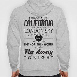 Fly Away - White Hoody