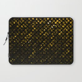 Crystal Bling Strass Gold G321 Laptop Sleeve