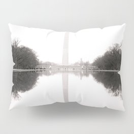 Washington Monument in the Mist - Washington D.C. Pillow Sham