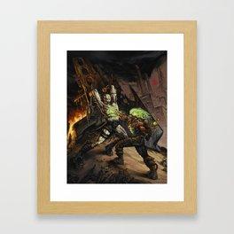 Toxic War by BAXA Framed Art Print