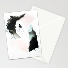 New Day Abstract Painting Stationery Cards
