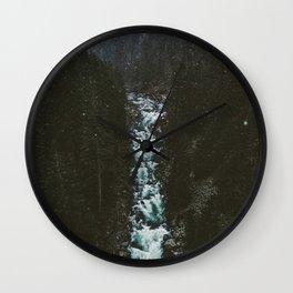 Washington Winter Wonderland Wall Clock