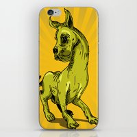 great dane iPhone & iPod Skins featuring Great Dane by wahyudi77