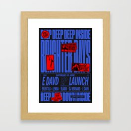 Brighter Days / E Davd Framed Art Print