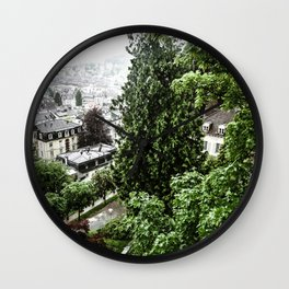 European View Wall Clock