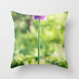 A tall one Throw Pillow