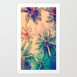 PALM TREE--TROPICAL Art Print