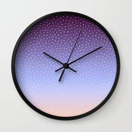 Twilight Dots Wall Clock
