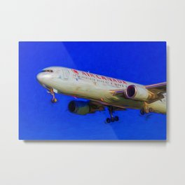 Air Canada Boeing 767 Art Metal Print