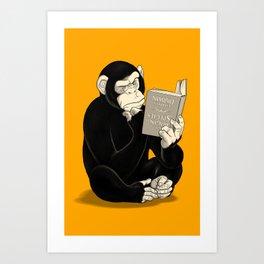 Origin of Species Art Print