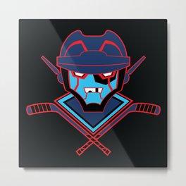Autonomous Hat Trick Club Metal Print