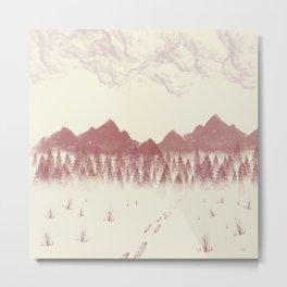 A Path Unto Bountiful Metal Print