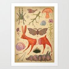 Beautiful feeling (Collection I) Art Print