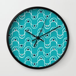 Maisy Waves Wall Clock