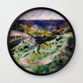 Road at Wargemont Wall Clock