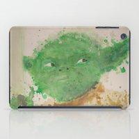 yoda iPad Cases featuring Yoda by lindenhellart