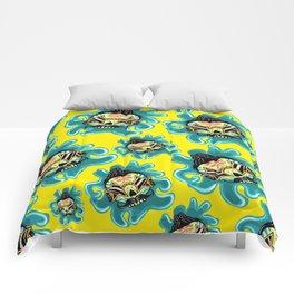 Cute Skull Elvis Comforters