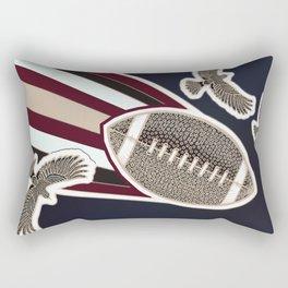 American football, gridiron ball Rectangular Pillow