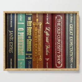 Books 3 Serving Tray