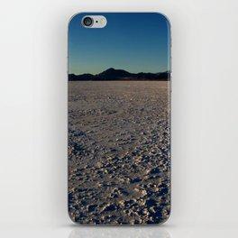 Bonneville Salt Flats - Utah iPhone Skin