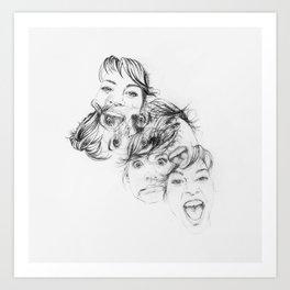 All of Me Art Print