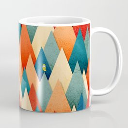 070 – deep into the autumn forest texture I Coffee Mug