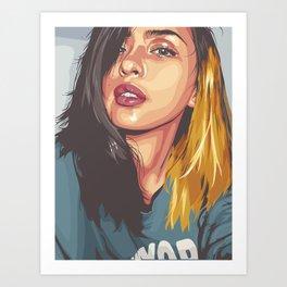 joyce Art Print