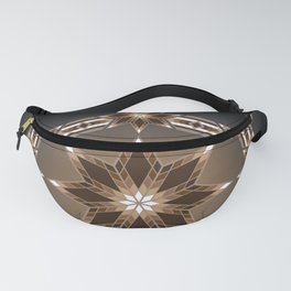Morning Star Circle (Brown) Fanny Pack