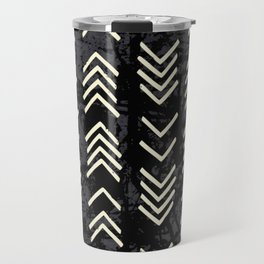 Arrow mud cloth pattern Travel Mug