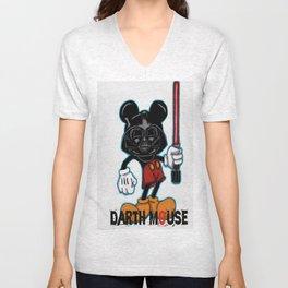 Darth Mouse Unisex V-Neck