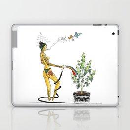 Rainbow Weed Babe - Higher Life Laptop & iPad Skin