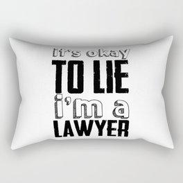 Lawyer Sayings Rectangular Pillow