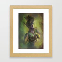Demon Hunter - WoW Framed Art Print