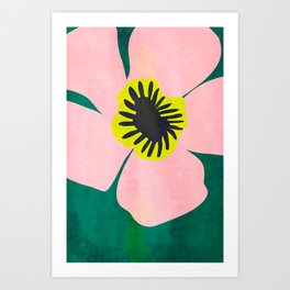 Pink Bloom No 01 Art Print