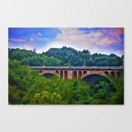 William Howard Taft Bridge Canvas Print
