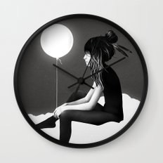 No Such Thing As Nothing (By Night) Wall Clock