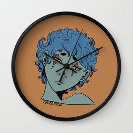 Moody Clown Wall Clock