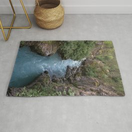 Alaska River Canyon - I Rug