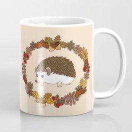 Kawaii hedgehog Coffee Mug