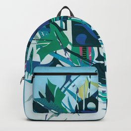 The Gift- Mixed Media Fantasy Abstract Paper Art  Backpack