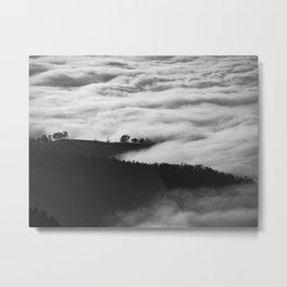Hills of Mystery Metal Print