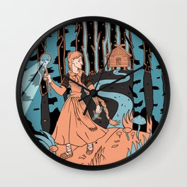 Vasilisa Wall Clock