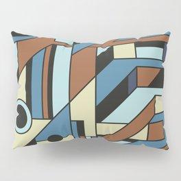 De Stijl Abstract Geometric Artwork 3 Pillow Sham