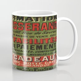 Vintage poster - Tranformation Du Tisserand Coffee Mug