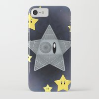 death star iPhone & iPod Cases featuring Death Star by Verreaux
