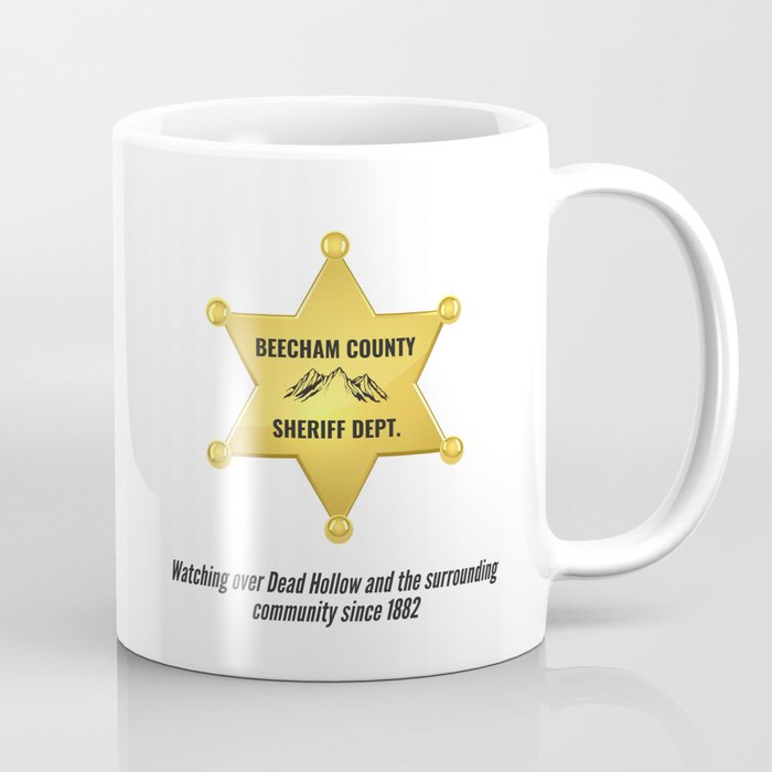 Beecham County Sheriff Coffee Mug