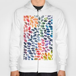 Colorful Painted Drops Hoody