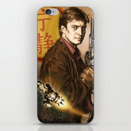 Captain Mal Reynolds iPhone Skin