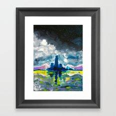 Majestic Midnight  Framed Art Print